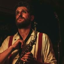 Kazya, concert, couleur, saxophone, apes o'clock, photographe, rennes (2)