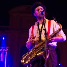 Kazya, concert, couleur, saxophone, apes o'clock, photographe, rennes