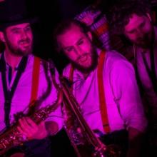 Kazya, concert, couleur, soir, musique, apes o'clock, photographe, rennes, trombone, saxo, groupe