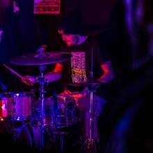 Kazya concert, couleur, F!, Fi, batteur, photographe, Rennes